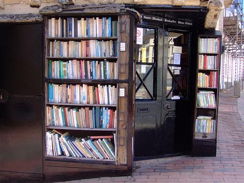 本屋の入口の写真