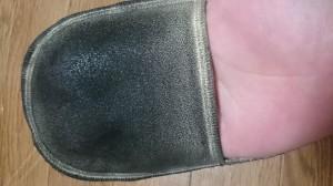 靴磨き用のグローブ